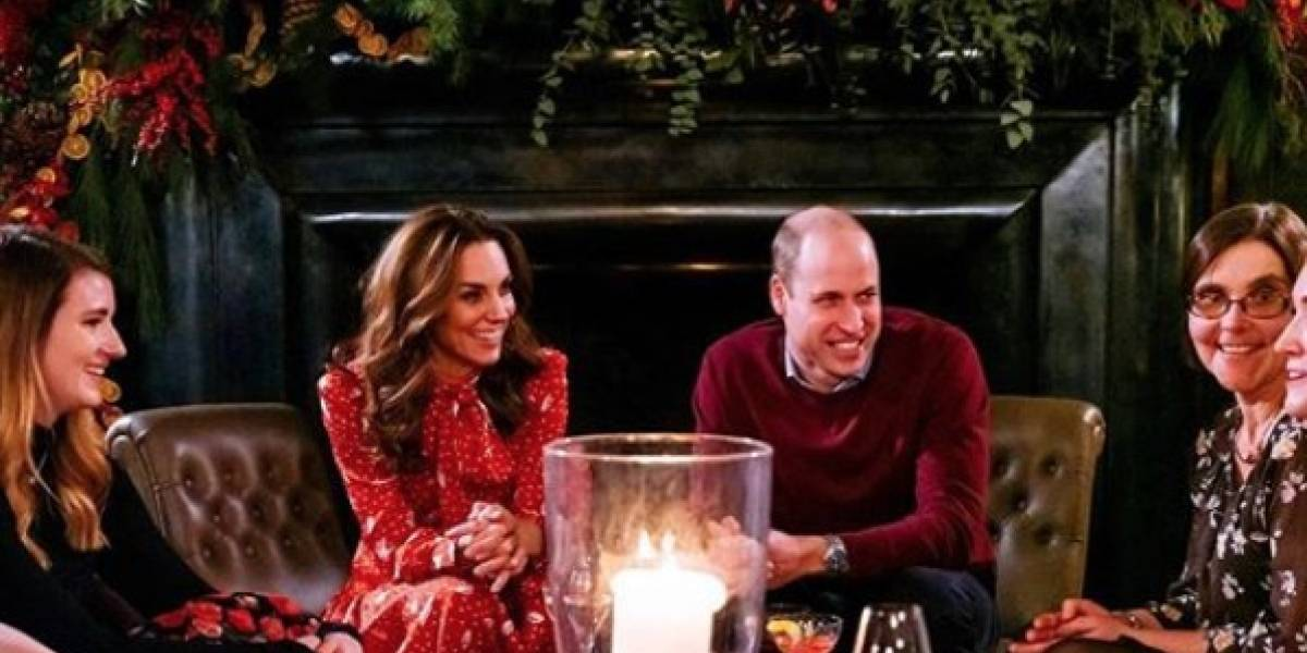 ¡Qué desagradable! Kate Middleton rechazó una caricia del príncipe William