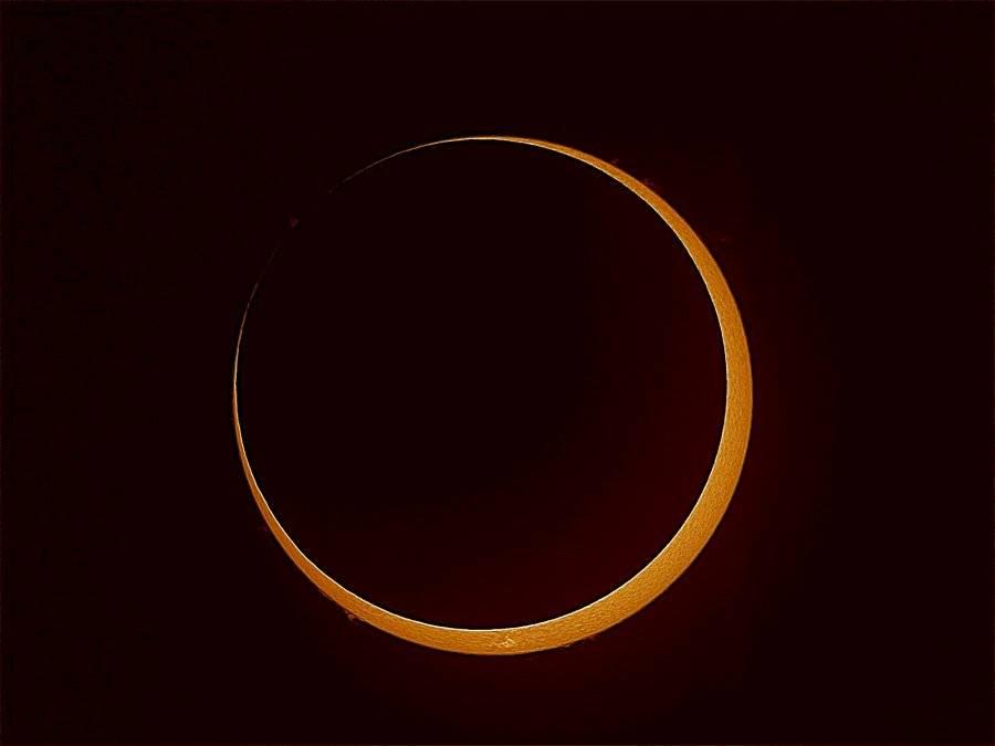 Se viene un nuevo eclipse solar parcial llamado 'Anillo de fuego'