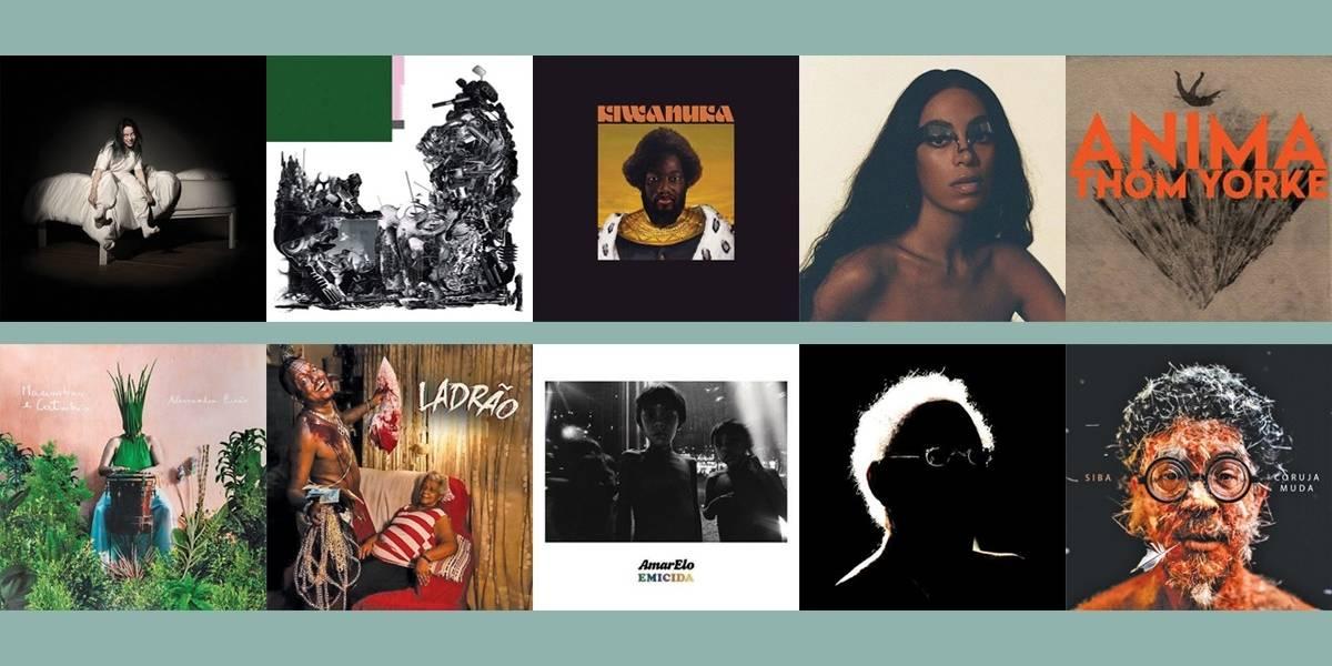 Metro Jornal lista os melhores discos nacionais e internacionais de 2019