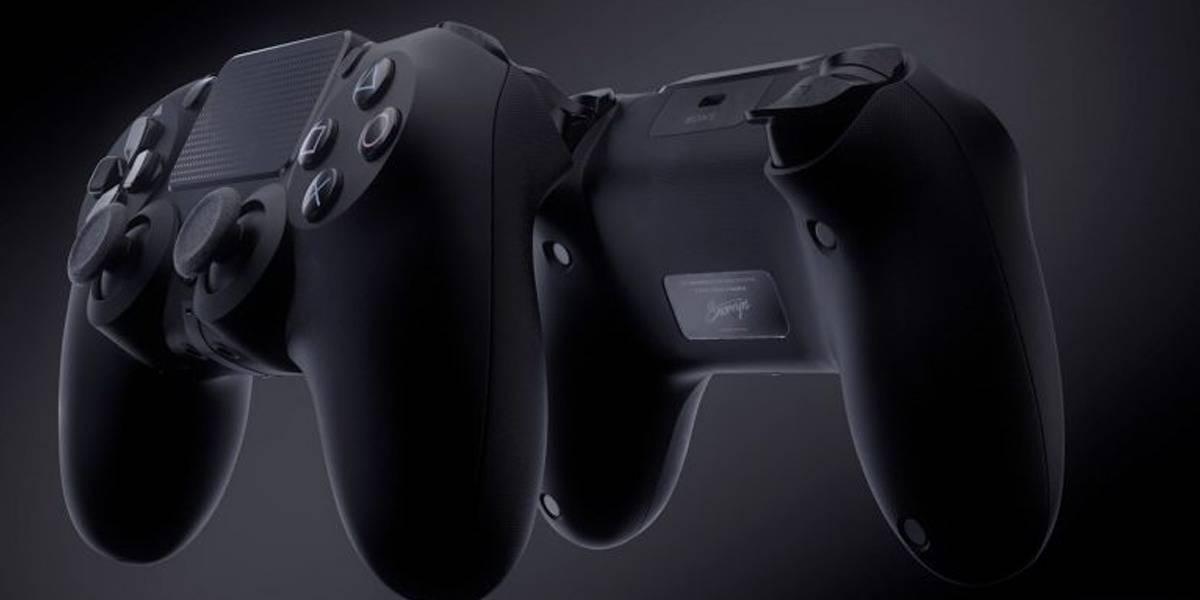 Este brutal render muestra cómo sería el mando del PlayStation 5