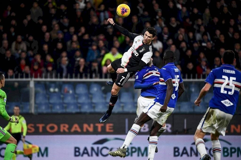 Gol Cristiano Ronaldo Sampdoria vs Juventus