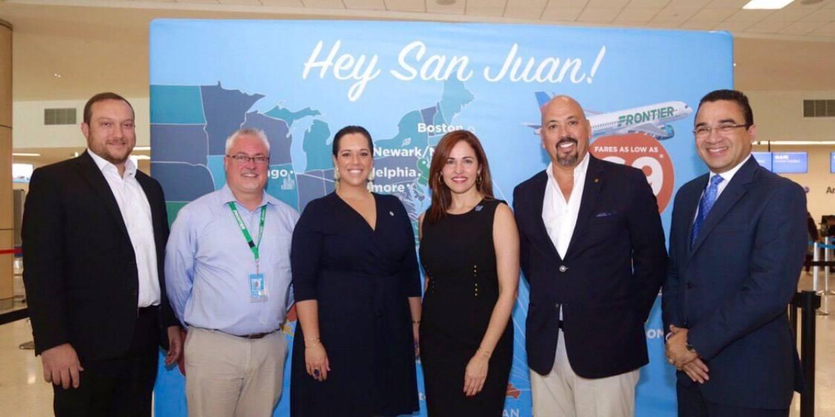 Frontier anuncia estas cuatro rutas nuevas desde Puerto Rico