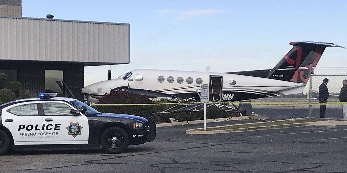 EEUU: Adolescente roba avión y lo choca en Aeropuerto de Fresno