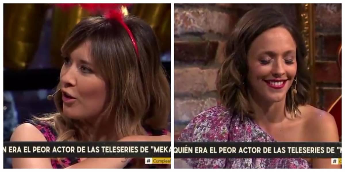 """""""Se van a agarrar a pelear acá"""": a 12 años del fin de """"Mekano"""" Carla Jara desclasificó antiguo lío con Maly Jorquiera"""