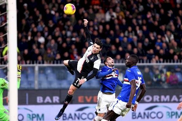Cristiano Ronaldo, gol de cabeza Getty Images