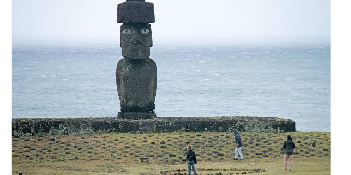 Moais da Ilha de Páscoa eram usados na agricultura, diz estudo