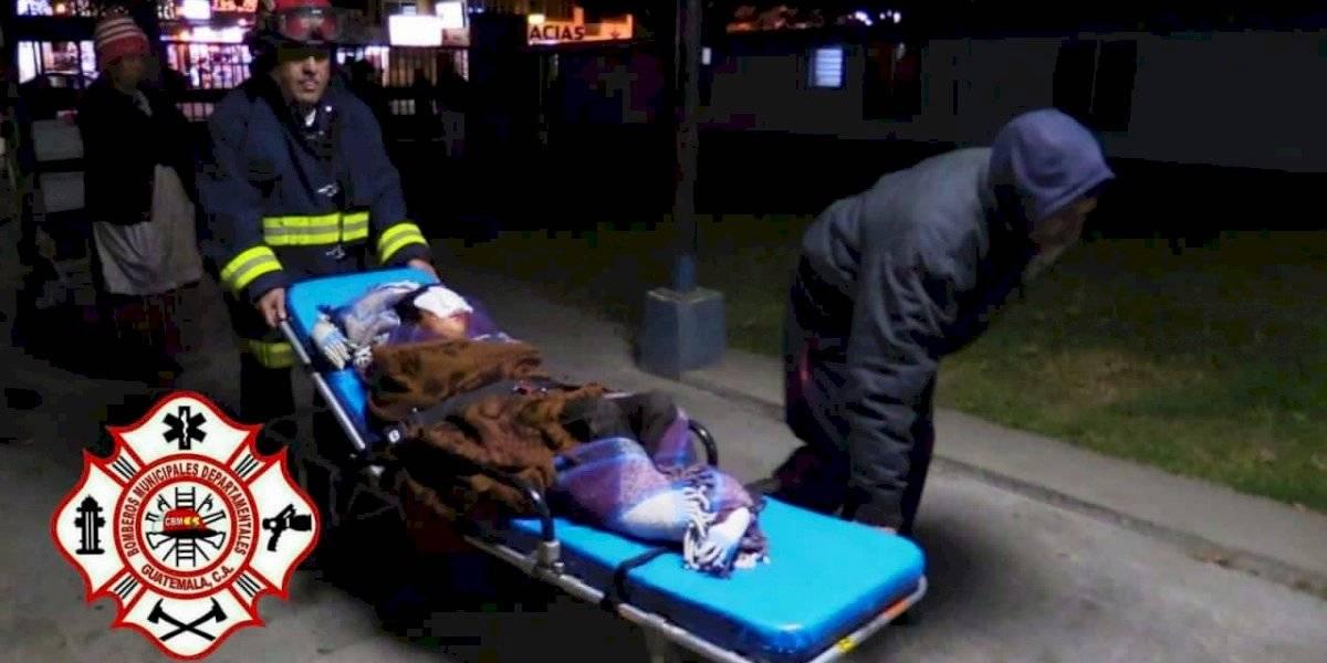 Niño resulta con quemaduras tras el estallido de una bomba pirotécnica