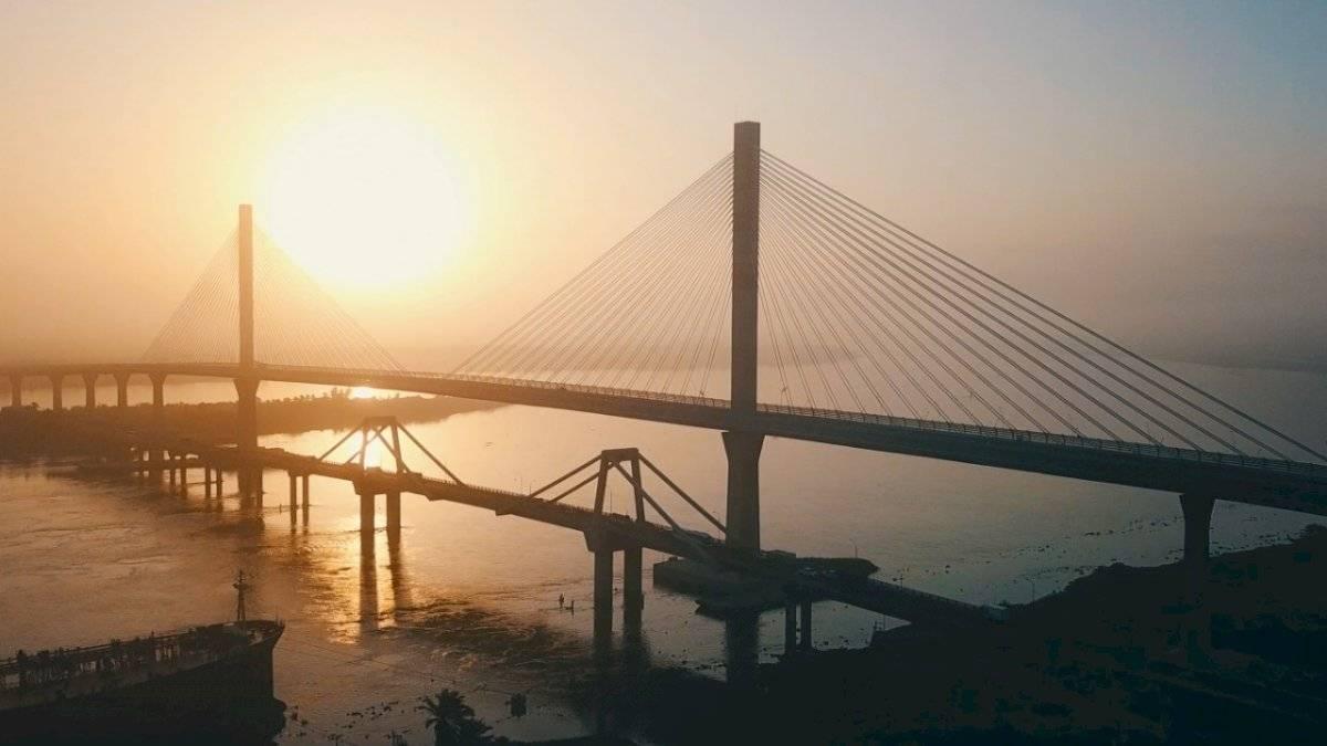 La obra del Puente Pumarejo. Invias