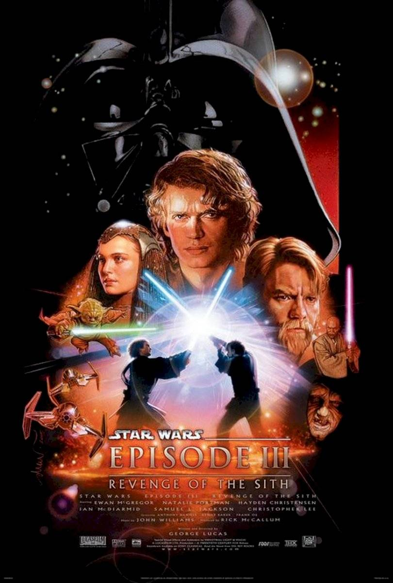 Poster Star Wars - episódio 3