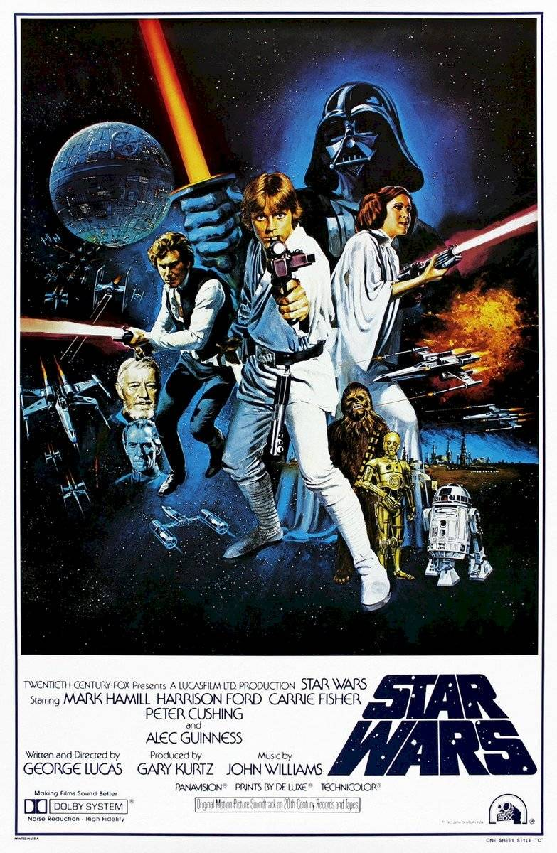 Poster Star Wars - episódio 4
