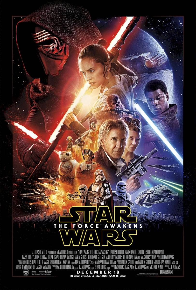 Poster Star Wars - episódio 7