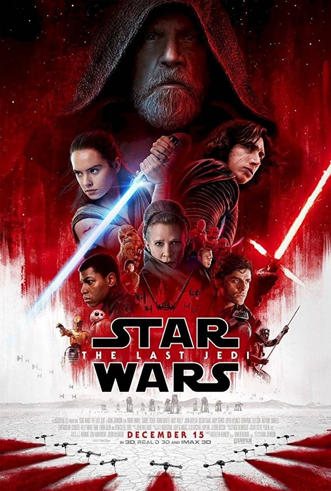 Poster Star Wars - episódio 8