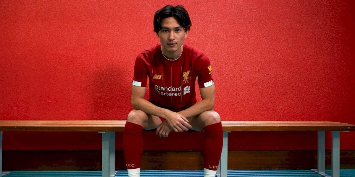 Liverpool anuncia sorprendente fichaje: sumó al japonés Takumi Minamino