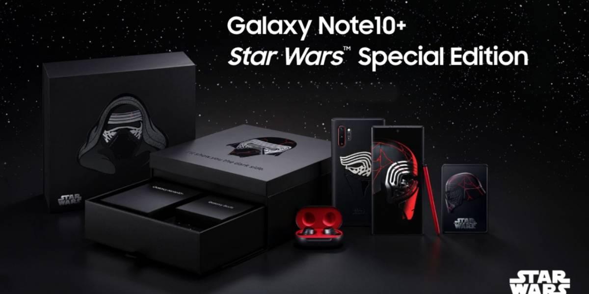 Galaxy Note10+ edición de Star Wars, esto es todo lo que contiene
