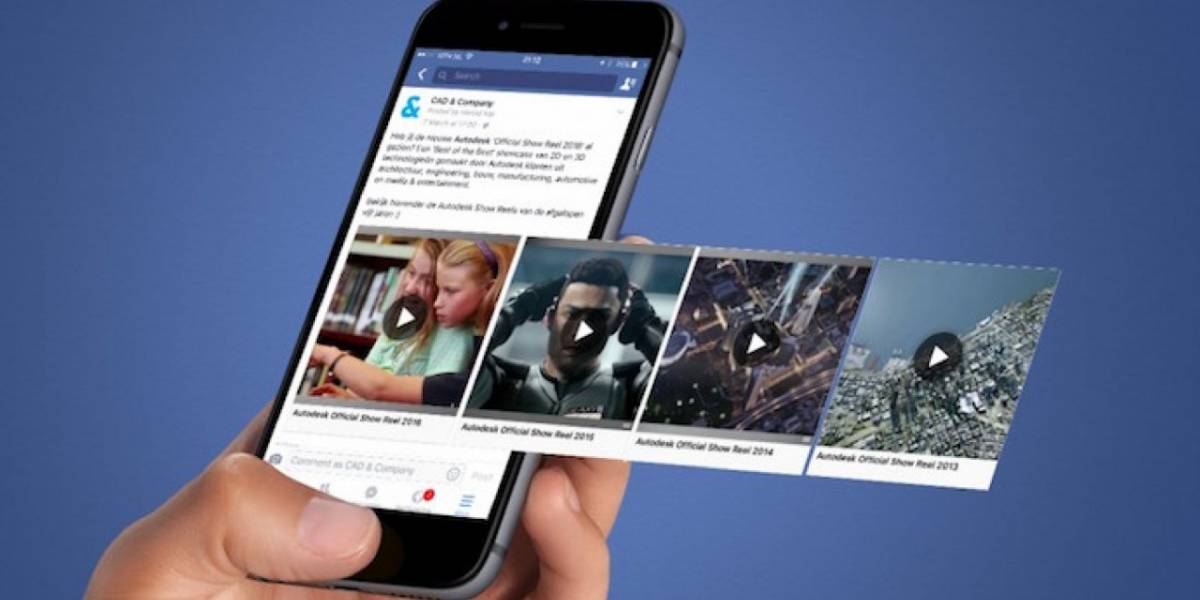 Así puedes bajar videos de Facebook sin instalar nada extra