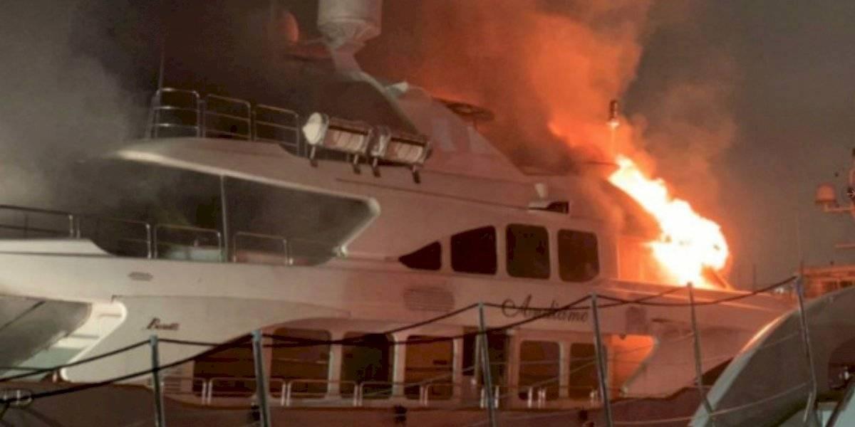 Yate de Marc Anthony, valorado en USD 7 millones, fue consumido por las llamas