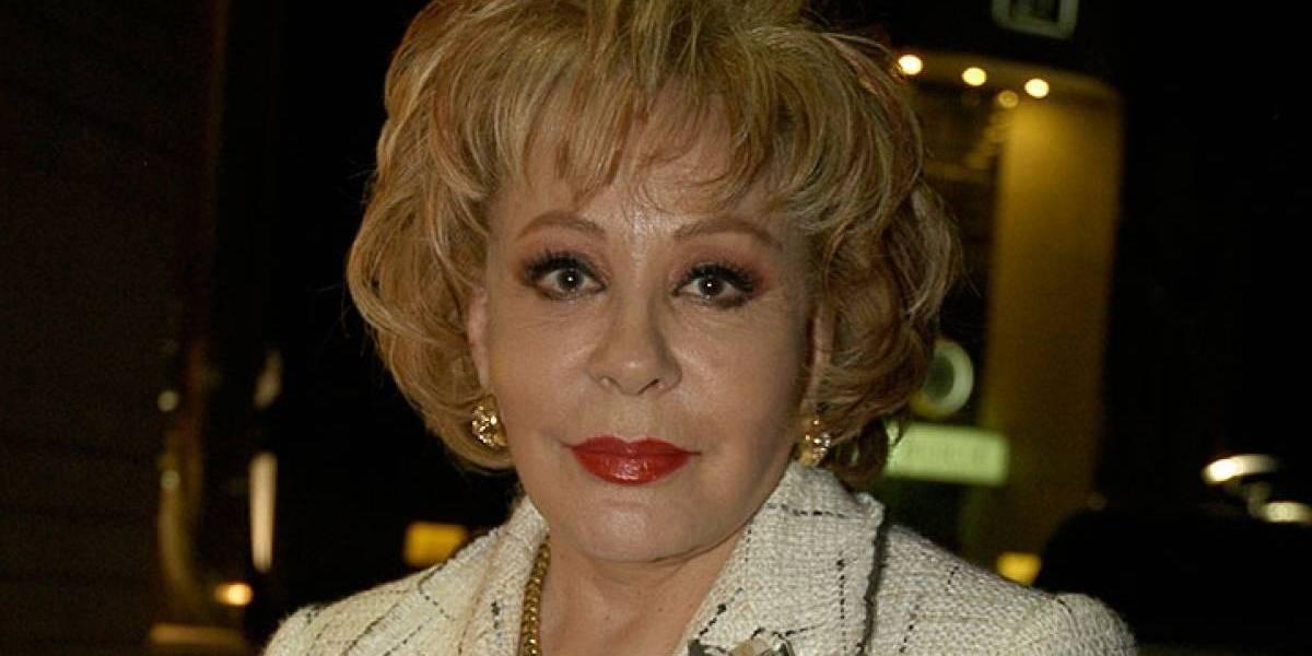 A sus 88 años, Silvia Pinal posa sin gota de maquillaje por primera vez