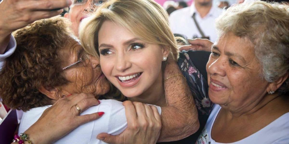 Así luce la exPrimera Dama de México Angélica Rivera al natural, ¡sin maquillaje!