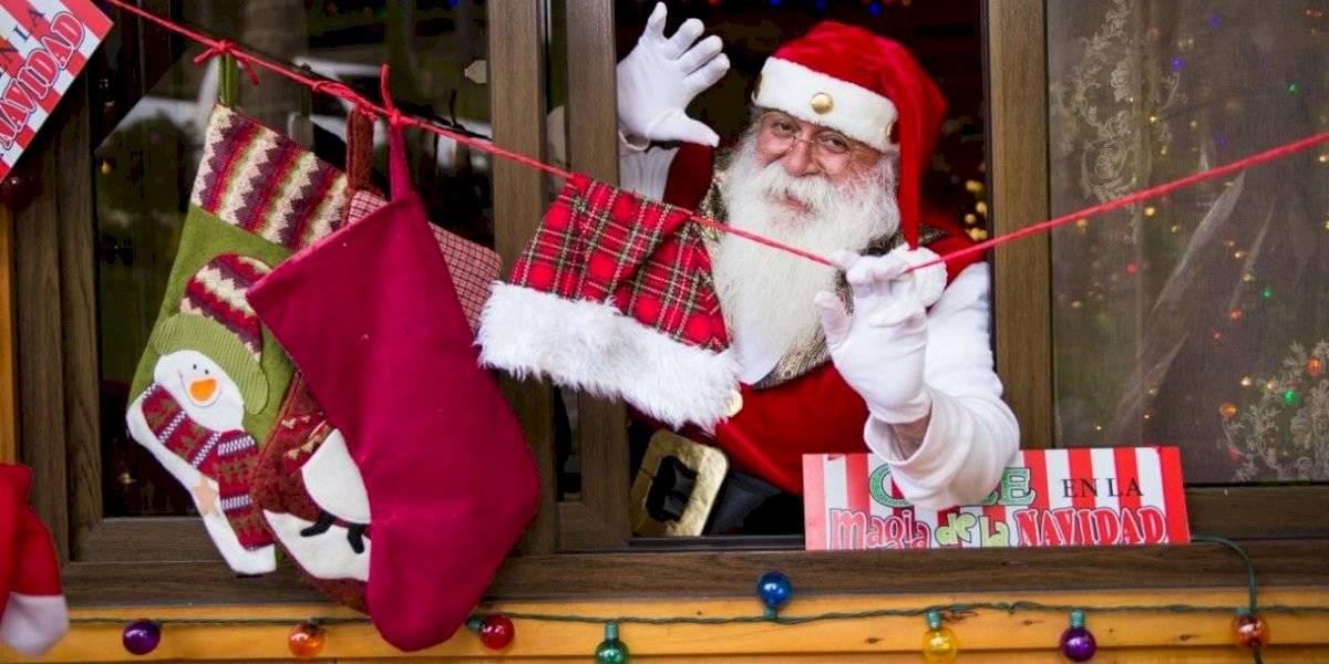 """Relato de un Santa Claus: """"Estamos para hacer felices a los niños"""""""