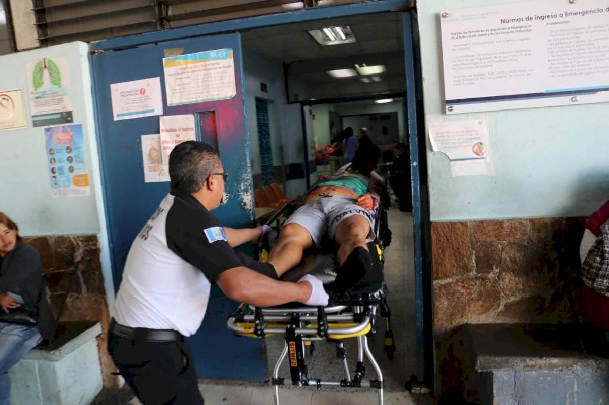 conductor muere en asalto en zona 6
