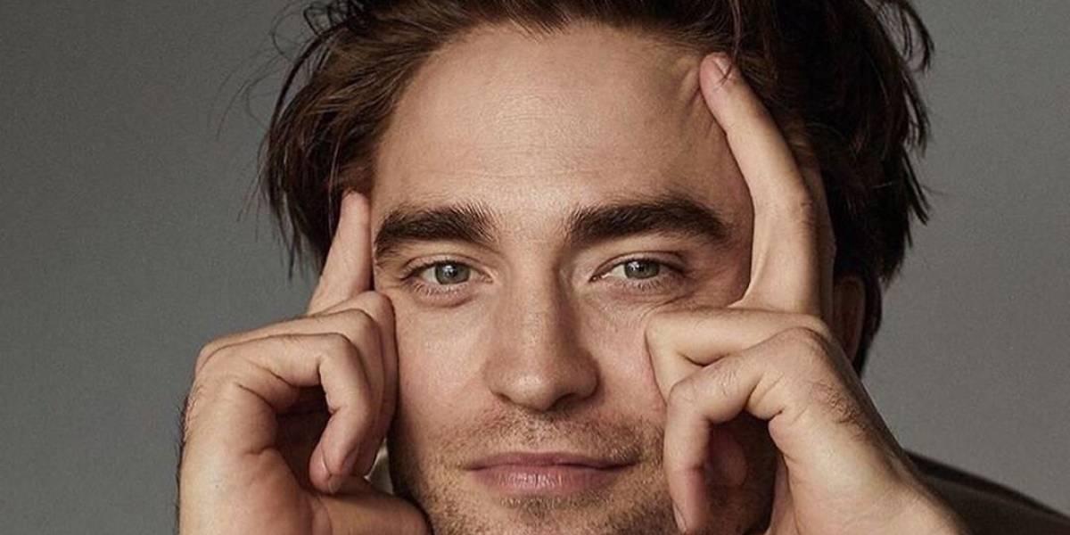Muestran la primera imagen de Robert Pattinson con la máscara de Batman