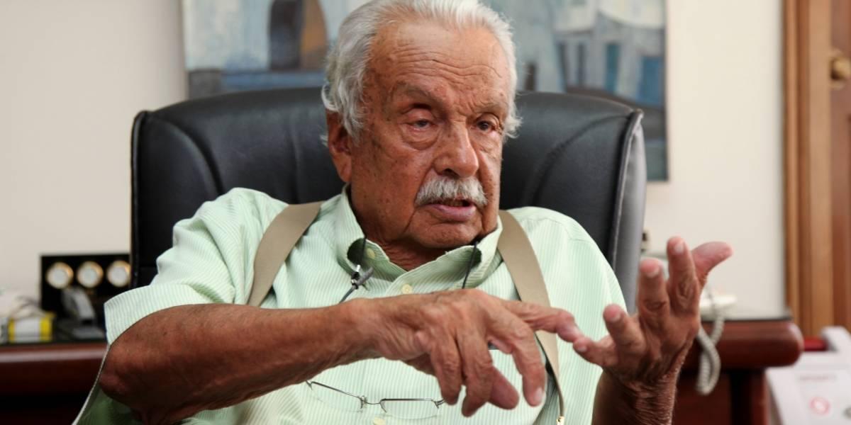 El dirigente que cambio la historia de LDU, Rodrigo Paz Delgado cumple 86 años