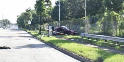 accidente en la avenida Piñero mueren dos menores