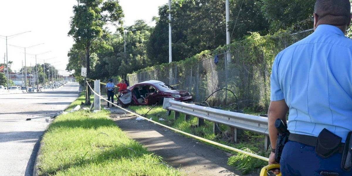 Fallece madre que se accidentó junto a sus hijos en la avenida Piñero