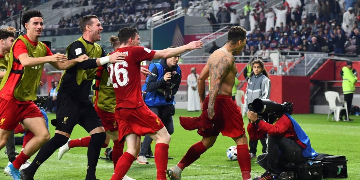 ¡Histórico! Liverpool gana a Flamengo en la final del Mundial de Clubes