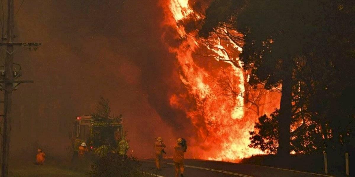 """Todo un infierno: Australia sufre condiciones """"catastróficas"""" por incendios forestales en plena ola de calor y se pronostican máximas de 47 grados"""