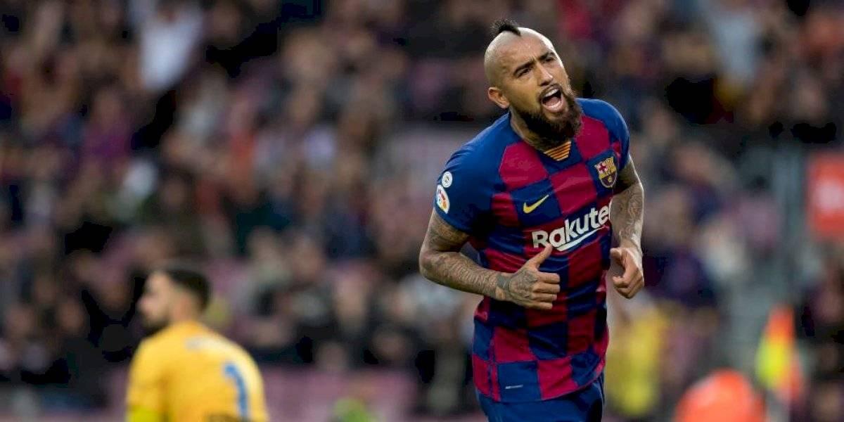 """Valverde: """"A mí me cuesta ordenar a Vidal en la cancha porque aparece por todos lados"""""""