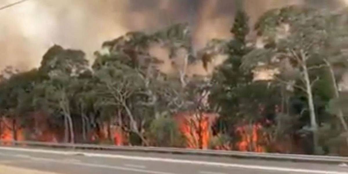 Fumaça de incêndios na Austrália chega ao Rio Grande do Sul