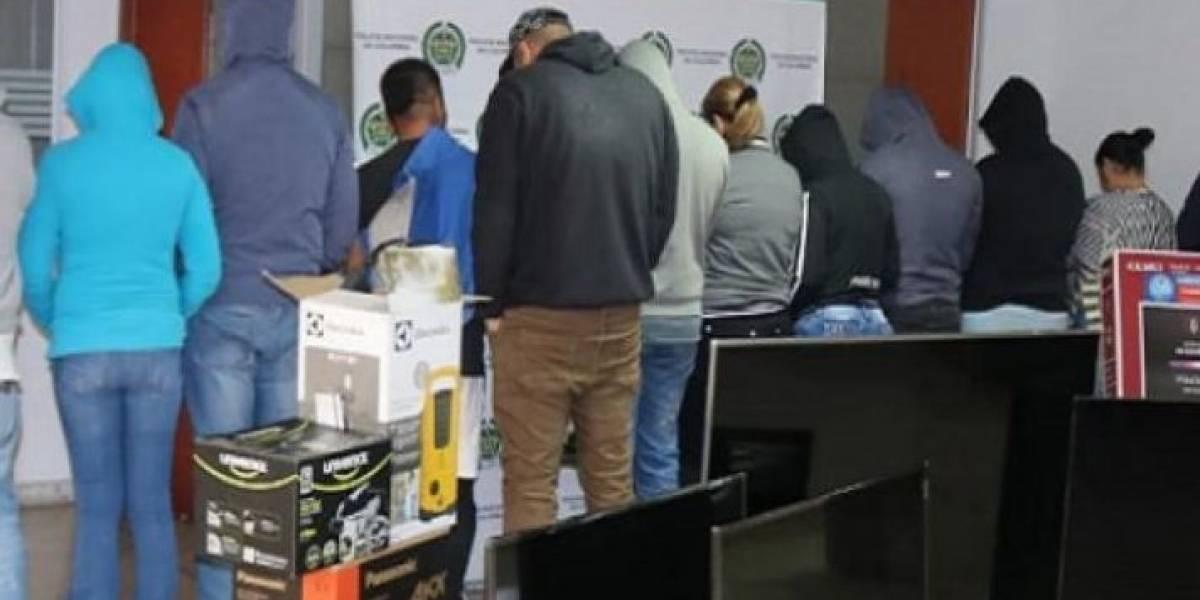 La estrategia que usaba temida banda para robar televisores y electrodomésticos de un almacén