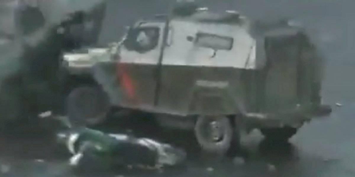 """HRW tras atropello a manifestante: """"¿De qué sirven las charlas sobre DD.HH. que se dan a Carabineros si en la calle siguen actuando con brutalidad extrema"""""""