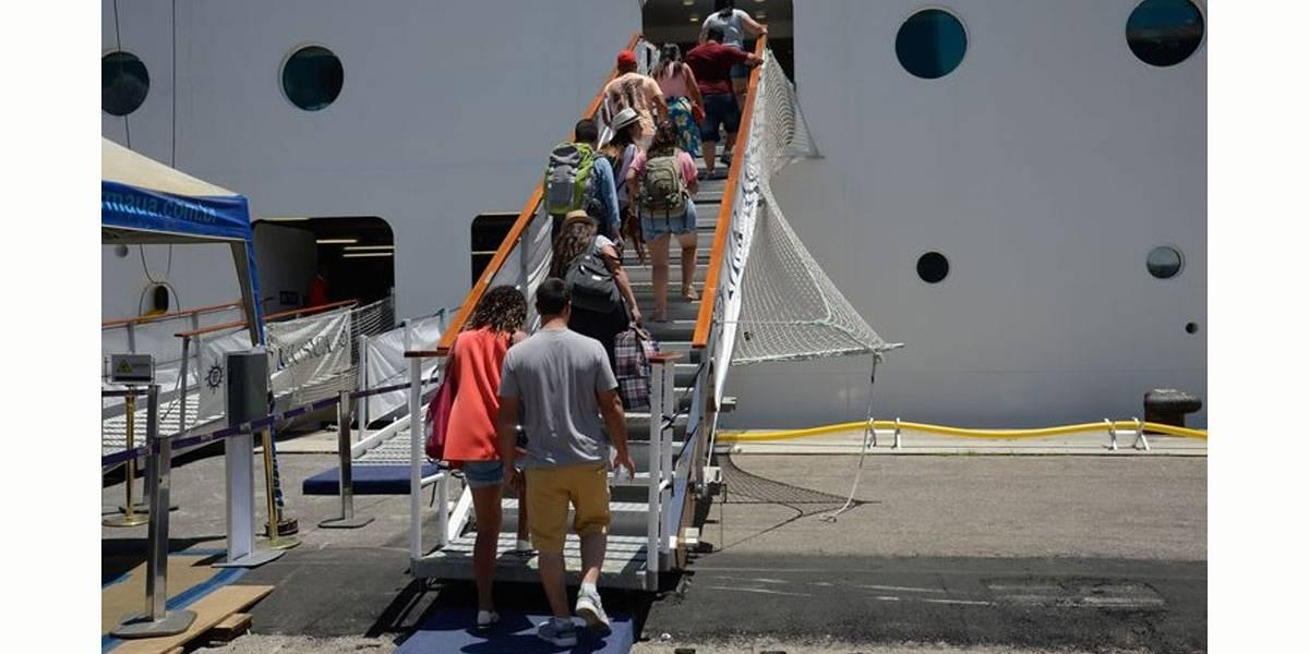 Temporada de cruzeiros movimentará mais de 620 mil turistas em Santos