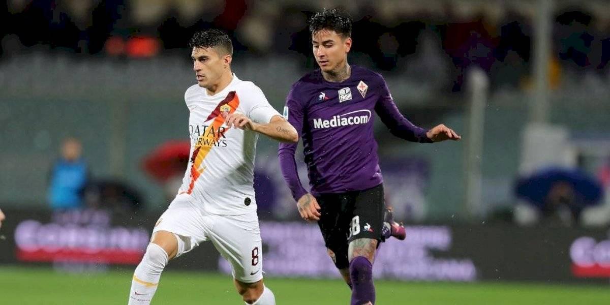 Pulgar se quedó sin DT: Fiorentina destituyó a Vincenzo Montella luego de derrota ante la Roma