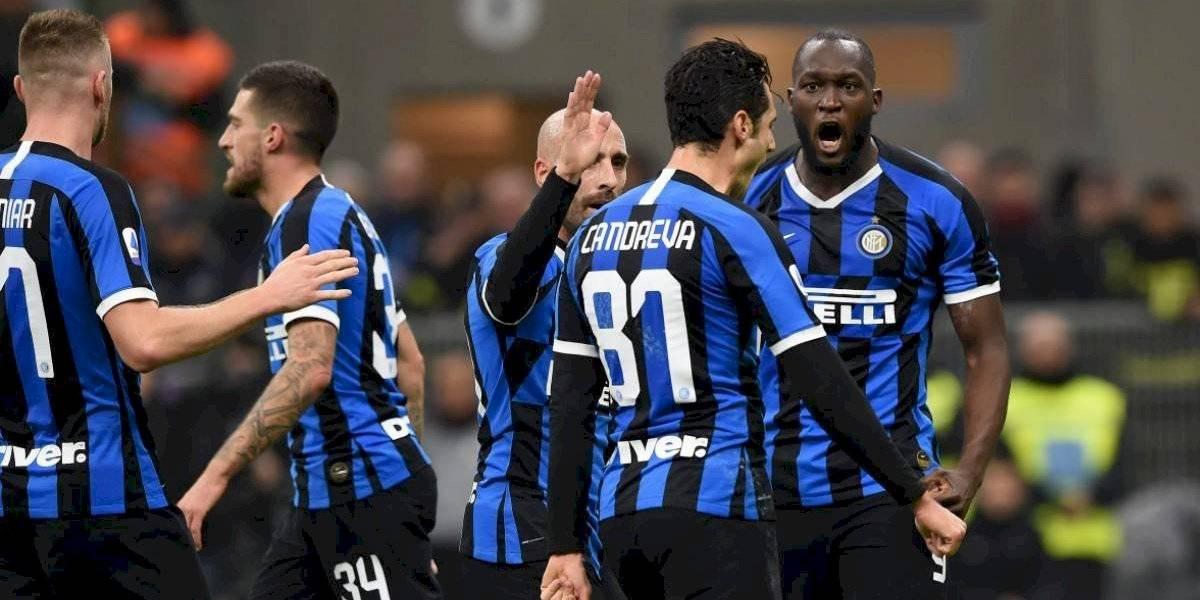 Inter golea al ritmo de Lukaku y sigue firme en la cima de Italia