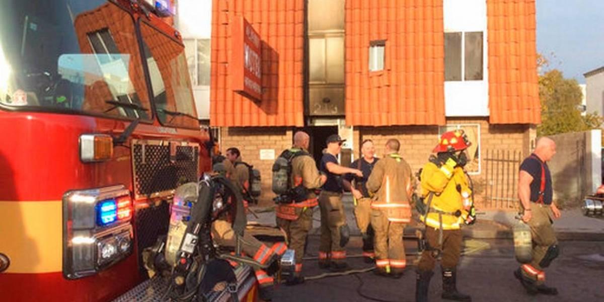 Incendio en Las Vegas causa cinco muertes