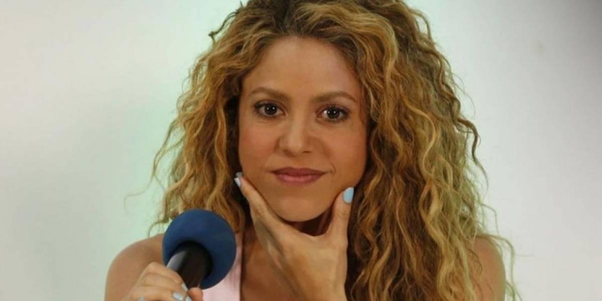 ¡Con esa mini! Shakira se agachó y mostró lo que no debía en Viña del Mar