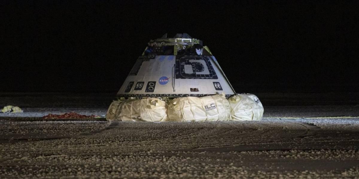 Cápsula Boeing regresa a Tierra tras misión fallida
