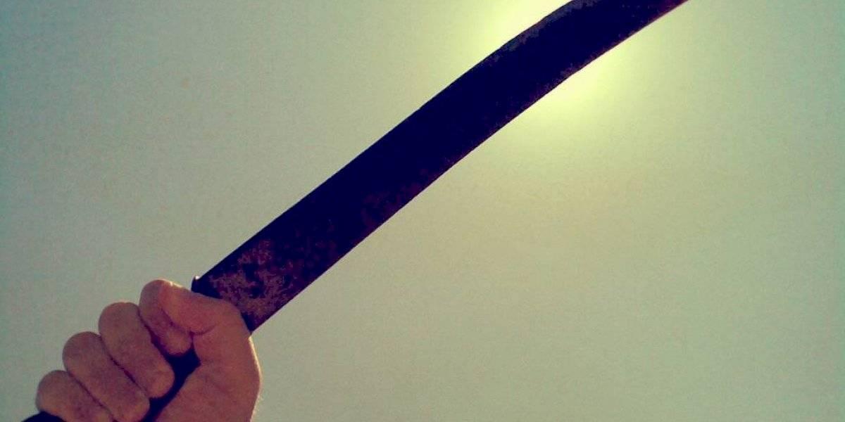 Pelea de mujeres termina a machetazos en Barrio Obrero