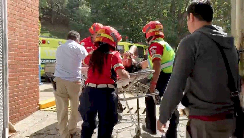 Agustín Herrera llevado a un hospital tras Clásico 310