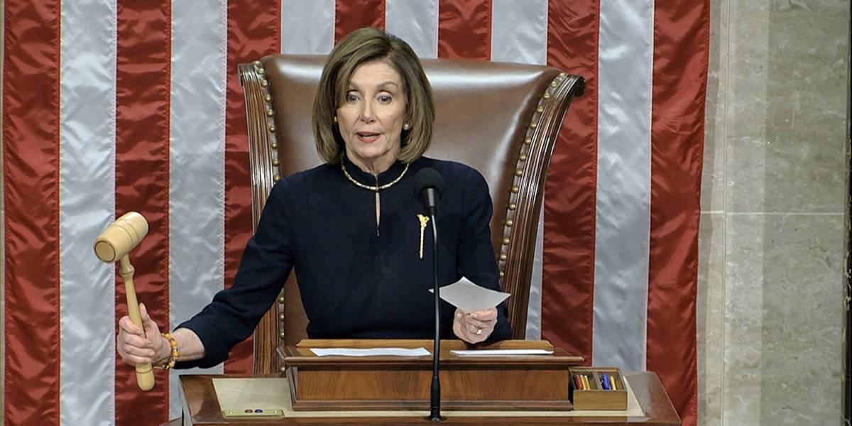 Casa Blanca cree que Pelosi cederá en su postura de no entregar documentos sobre el residenciamiento
