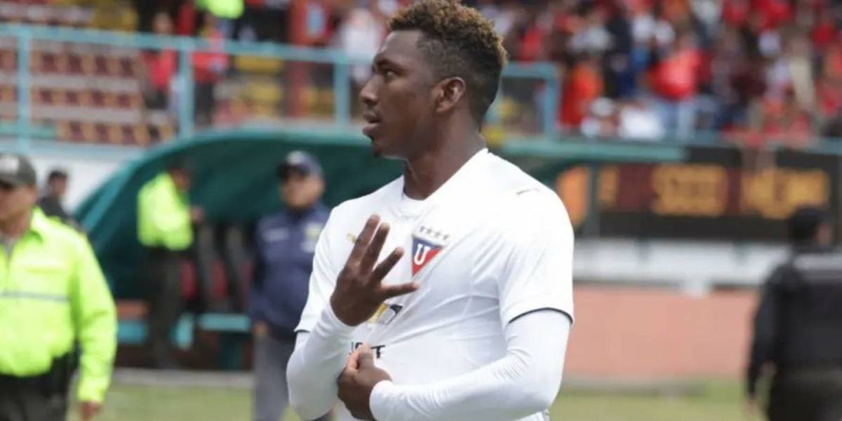 El jugador de Liga de Quito, Edison Realpe, falleció en accidente de tránsito