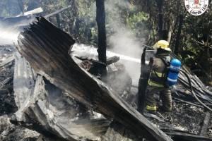 Incendio en Loja