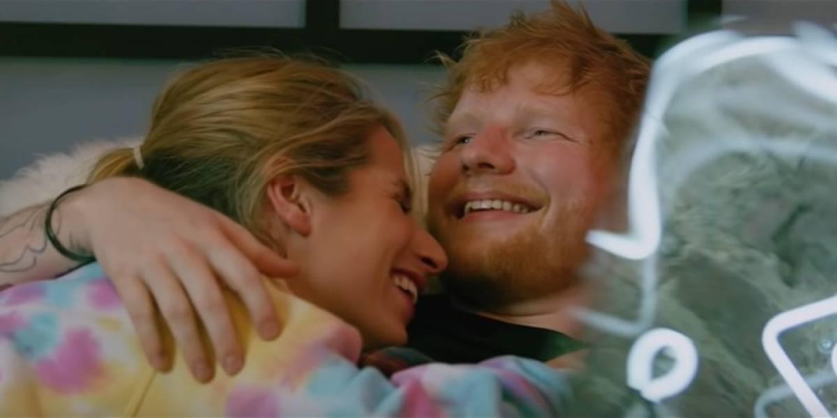 Ed Sheeran lança clipe super romântico ao lado da esposa