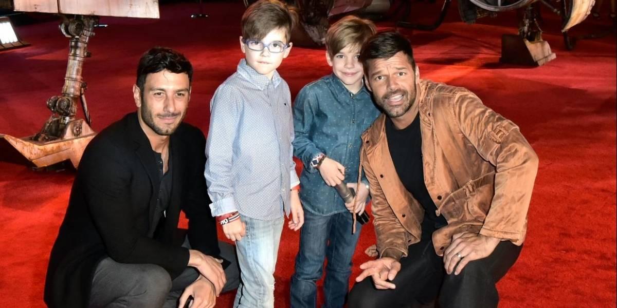 Revelan la supuesta identidad de la madre de los hijos de Ricky Martin