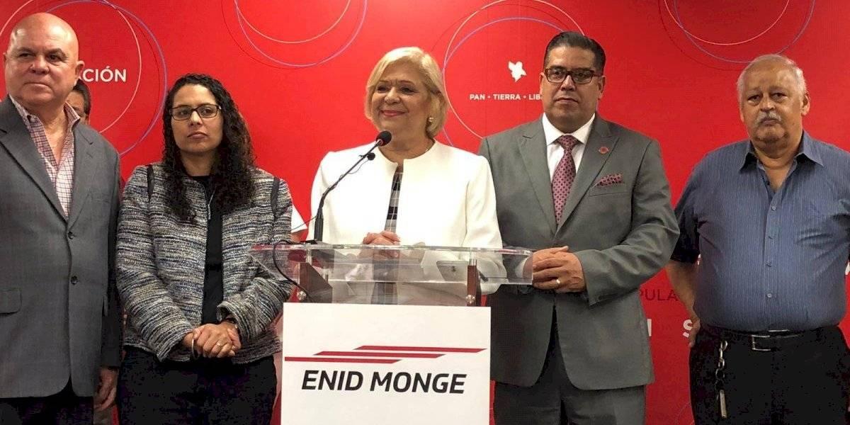 Enid Monge anuncia candidatura a representante por acumulación