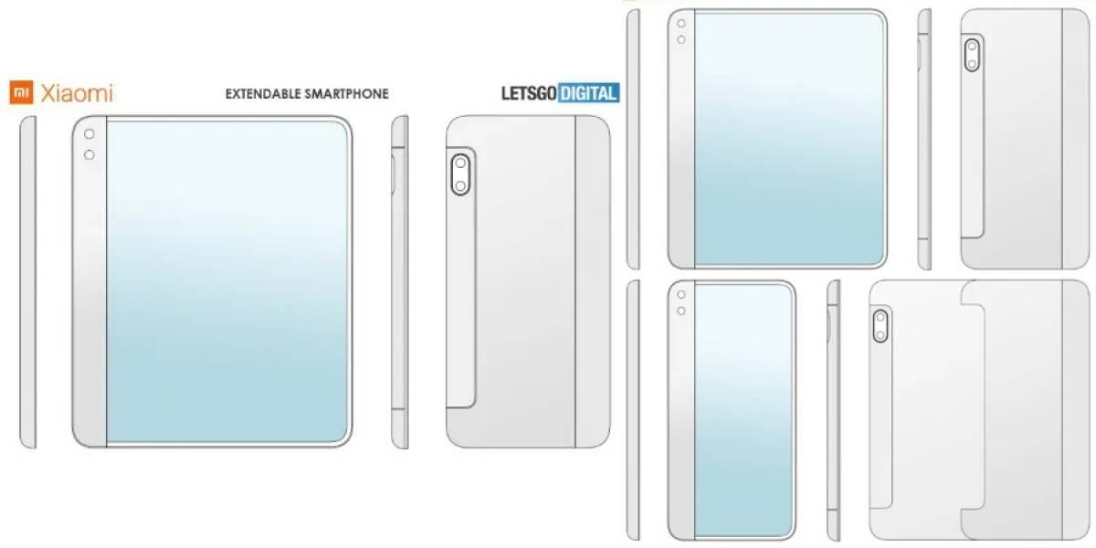 Por partida doble: Xiaomi patenta smartphone que se enrolla y despliega
