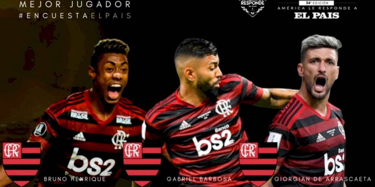 Gabigol, Bruno Henrique y De Arrascaeta: Flamengo se apodera de la terna final al Mejor de América 2019
